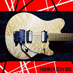 MUSIC MAN EVH Signature Natural Used Electric Guitar Free shipping EMS #MUSICMAN