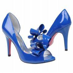 Paris Hilton Senorita Shoes (Blue Patent) - Women's Shoes - 7.0 M