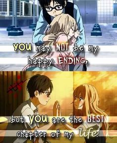 This quote fits perfectly to this anime Anime: Your Lie in April Like and share our page 101 Anime for more ~Koi