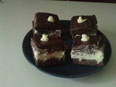 Csokis citromszelet Cheesecake, Food, Cheesecakes, Essen, Meals, Yemek, Cherry Cheesecake Shooters, Eten