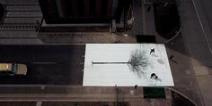 Pedestrian Crossing in China Turns Pedestrian Footsteps Into Leaves