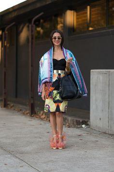 Australia Street Style Spring 2013 - Australia Fashion Week Style Spring 2013 - Harper's BAZAAR