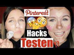 3 Pinterest BEAUTY HACKS getestet ! - TOP oder FLOP ? | Dagi Bee - YouTube