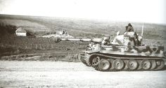 Tiger S01 from Das Reich SS Panzer Division. S01 was a Befehls (Command) Tiger Tank.