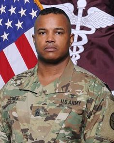 CSM Antwone T. Jones, Command Sergeant Major,  Moncrief Army Health Clinic, July 12, 2016.