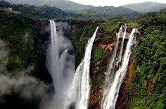 """Jog Falls is the second-highest plunge waterfall in India Located near Sagara, Karnataka.""   Photo by Ramesh Hegde."