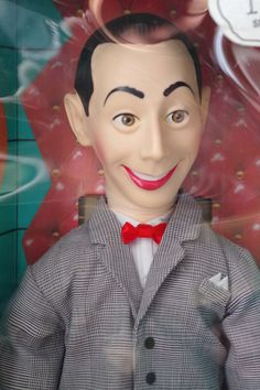 Vintage 1987 Pee Wee Herman Talking Doll NIB Never Used in Original Box by retrowarehouse on Etsy