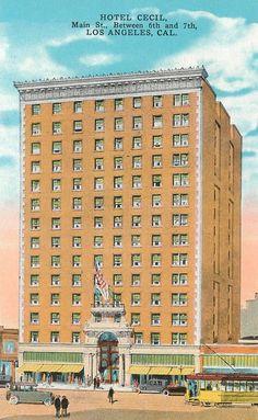 The Cecil Hotel. (Bizarre Los Angeles)