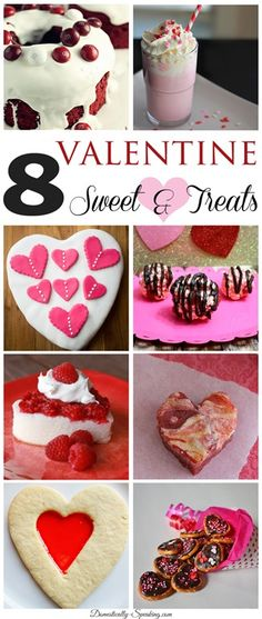 8 delicious Valentine Sweets and Treats you'll want to try!