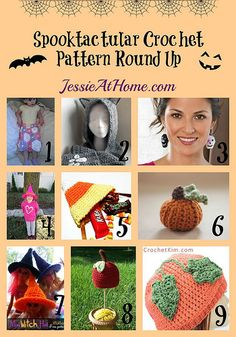 Spooktacular Crochet Pattern Round Up from Jessie At Home