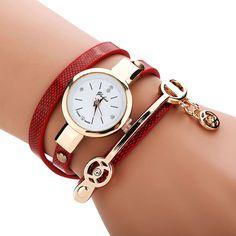 Golden Wrap Bracelet Watch