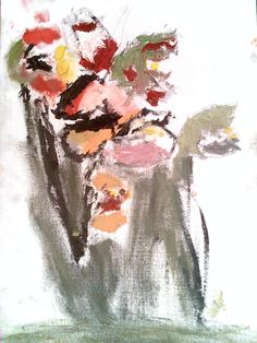 Técnica: óleo sobre lienzo.  Autor de primero de primaria