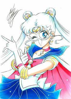 Sailor Moon 2014, Sailor Neptune, Sailor Uranus, Sailor Moon Art, Sailor Moon Crystal, Sailor Mars, Sailor Moon Cakes, Moon Illustration, Sailor Collar