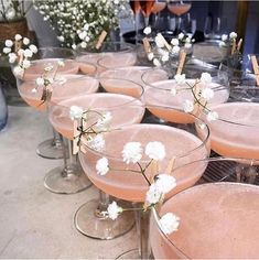 Dreamy Wedding Inspiration at Carmel Valley Ranch Fancy Drinks, Pink Cocktails, Pink Drinks, Superfood, Cocktail Recipes, Party Planning, Planning App, Bridal Shower, Food And Drink