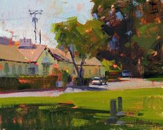 Jennifer A McChristian 'The Old Offices'.....8x10.....oil on canvas panel