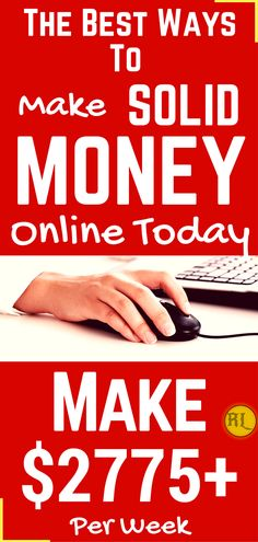 Make money online in 2017. The best ways to earn passive income online from home. Work from home and earn $2775 per week with genuine methods. Click the pin to see how >>>