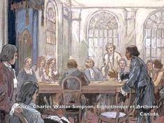 Le gouvernement de la Nouvelle-France vers 1745