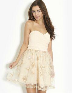 TFNC Lace Skirt Prom Dress | BANK Fashion