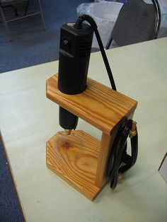 This would be a great safety idea as well heat tool for Heat guns for crafts