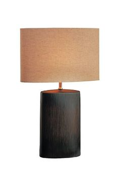 Lite Source LS-21024 Narvel Ceramic Table Lamp, Antique Bronze with Tan Fabric Shade Lite Source http://www.amazon.com/dp/B0017PQV2S/ref=cm_sw_r_pi_dp_cdiJtb0NEDR6GSMW