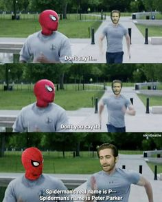 Peter Parker is here with the best memes about Spiderman Far From Home. The memes will make you laugh out loud or cry about the loss of our Spiderman friend Films Marvel, Disney Marvel, Marvel Heroes, Marvel Avengers, Marvel Comics, The Avengers, Humour Avengers, Funny Marvel Memes, Dc Memes
