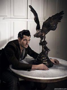 The Rake Magazine Photographer: Jake Walters Model: David Gandy