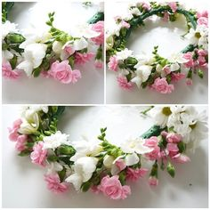 DIY flower crown - excellent tutorial