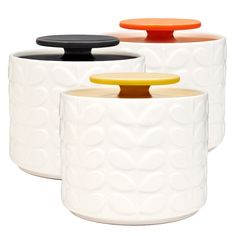 Buy Orla Kiely Storage Jar 1 Ltr Raised Stem at Jarrold - Norfolk's leading independent department store