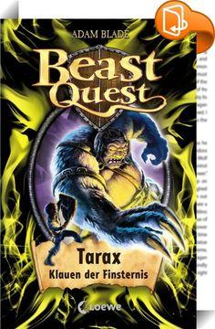 Beast Quest 21 - Tarax, Klauen der Finsternis    :  Tom steht vor dem Kampf mit Tarax, dem schrecklichen Höhlentroll. Dieser verwandelt jeden in Stein, der ihm vor seine langen Krallen gerät. Wird Tom es schaffen, lebend aus der Höhle des Biests zu entkommen und Tarax zu besiegen?   Seine neue Mission führt Tom zurück nach Avantia. Dort muss er die Geisterbiester bekämpfen, um die Teile eines magischen Amuletts zu erhalten. Nur mit dessen Hilfe kann er seinen Vater Taladon befreien.   ...