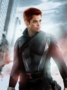 Chris Pine as Black Widow | Someone Swapped The Genders Of The Avengers And It's Perfect
