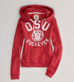 Ohio State Vintage Hooded Popover Ohio State Gear e6867ccc5