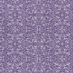 "Pearlized Filigree Print - Grape (21"" x 31"")  $4.15"