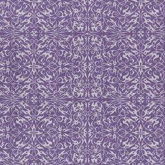 "Pearlized Filigree Print - Grape (21"" x 31"")  $4.15"