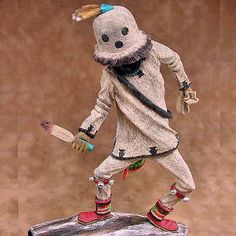 Hopi Eototo or Chief Kachina Doll by Artist Nate Jacob
