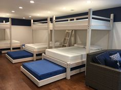 Lake house bunk room