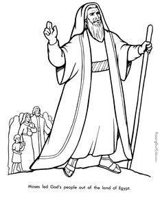 Bible Coloring Sheets 009