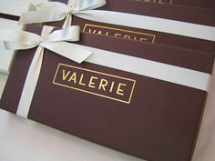 Valerie Chocolate Bar. Confections. Candy Bar. Val. Valerie.