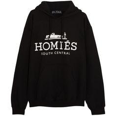Brian Lichtenberg Homiés cotton-blend jersey sweatshirt found on Polyvore