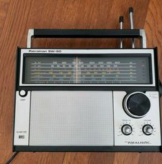 Vintage Realistic Patrolman SW-60 12-779 6-Band Radio Tested & Working #afflink Contains affiliate links. When you click on links to various merchants on this site and make a purchase this can result in this site earning a commission. Affiliate programs and affiliations include but are not limited to the eBay Partner Network.