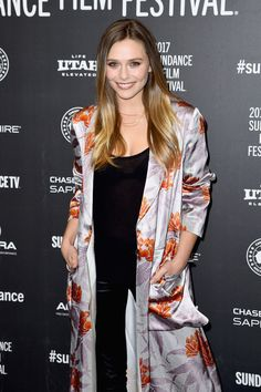 """Elizabeth Olsen Photos Photos - Actress Elizabeth Olsen attends the """"Wind River"""" premiere on day 3 of the  2017 Sundance Film Festival at Eccles Center Theatre on January 21, 2017 in Park City, Utah. - 'Wind River' Premiere - 2017 Sundance Film Festival"""