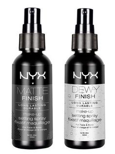 Makeup setting spray cheaper than makeup forever etc