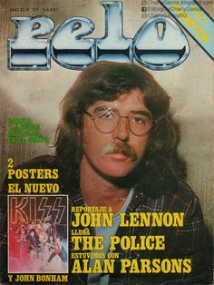 Charly García John Bonham, John Lennon, Alberto Garcia, Rock Argentino, Wall Collage, Album Covers, Idol, Old Things, Cinema