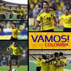 Mi selección Colombia #mundial 2014 #gano la seleccion colombia :)