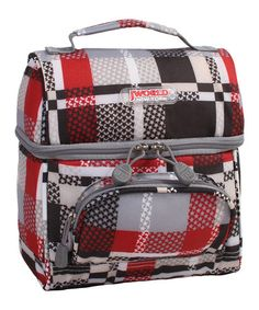 Take a look at this Star Corey Lunch Tote by JWorld on #zulily today!