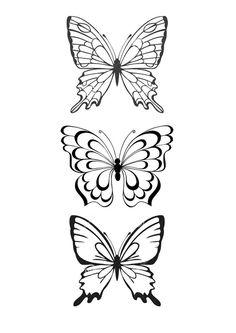 бабочки трафареты шаблоны: 19 тыс изображений найдено в Яндекс.Картинках