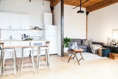 Beautiful Hard Loft In Toronto With Plants Brick and Beam Event and Production Space