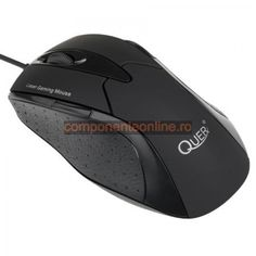 Mouse laser, gaming, negru, Quer - 401148