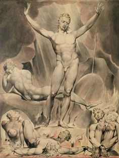 Satan Arousing the Rebel Angels - William Blake