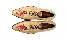 Mascolori cork pointed shoes with the devil woman