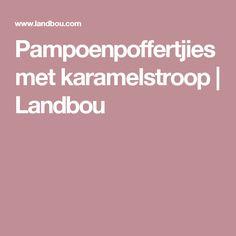 Pampoenpoffertjies met karamelstroop | Landbou